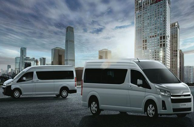 All New Toyota Hiace Commuter 2019